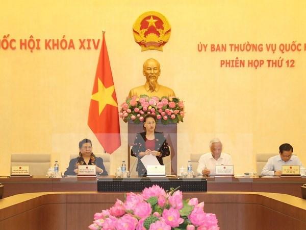 Inauguran duodecima reunion del Comite Permanente del Parlamento hinh anh 1