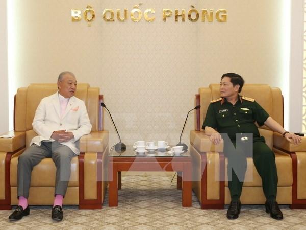 Colaboracion en defensa: factor importante en relaciones Vietnam-Japon hinh anh 1