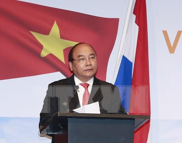 Paises Bajos aspira a profundizar nexos con Vietnam hinh anh 1