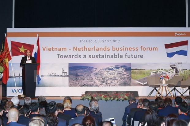Enfrentamiento a cambio climatico: sector potencial para colaboracion Vietnam- Paises Bajos hinh anh 1