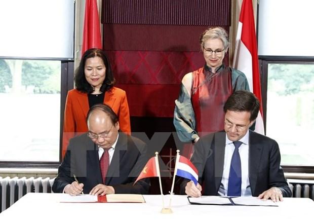 Cooperacion en gestion hidrica, punto relevante en nexos Vietnam-Paises Bajos hinh anh 1