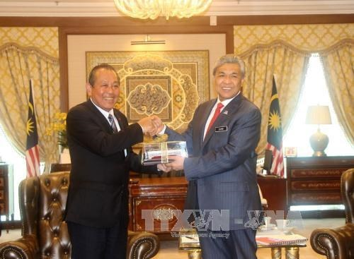 Vietnam y Malasia comprometidos a fortalecer su asocacion estrategica hinh anh 1