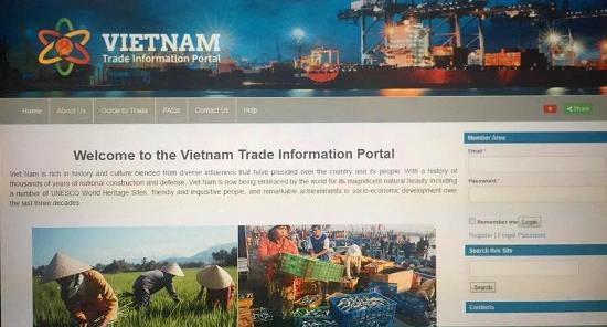 Lanzan sitio web de informacion comercial de Vietnam hinh anh 1