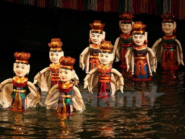 Realizaran en Sudcorea espectaculo artistico de marionetas acuaticas de Vietnam hinh anh 1