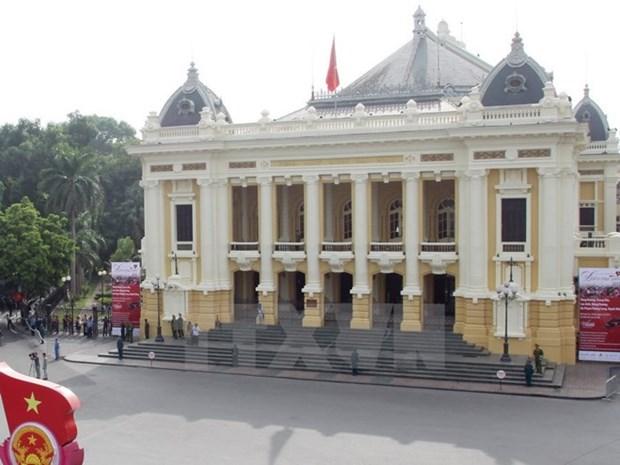 Lanzan programa de visita virtual al Gran Teatro de Opera de Hanoi hinh anh 1