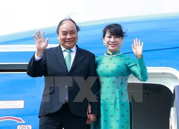 Premier vietnamita concluye visita a Paises Bajos hinh anh 1