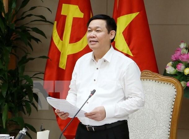 Vicepremier vietnamita pide acelerar la reforma empresarial hinh anh 1