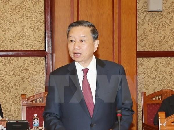 Vietnam y Myanmar intensifican la cooperacion en seguridad hinh anh 1