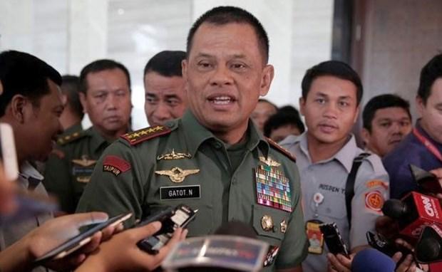 Indonesia y Singapur se comprometen a fortalecer seguridad del Sudeste Asiatico hinh anh 1