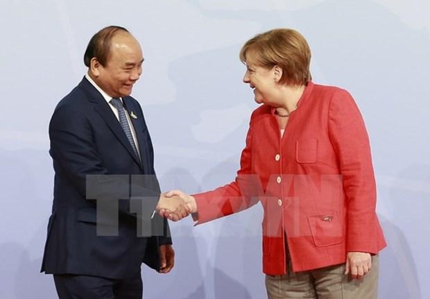 Nexos economicos centran gira de premier vietnamita por Alemania y Paises Bajos hinh anh 1