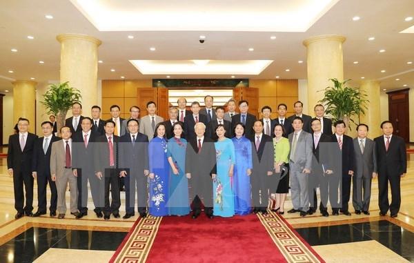 Dirigente partidista de Vietnam enfatiza necesidad de promover imagen nacional en extranjero hinh anh 1