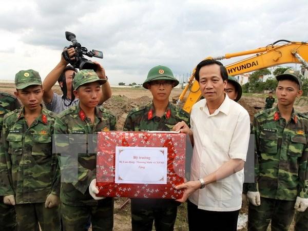 Recuerdan en Vietnam a los soldados caidos por la Patria hinh anh 1