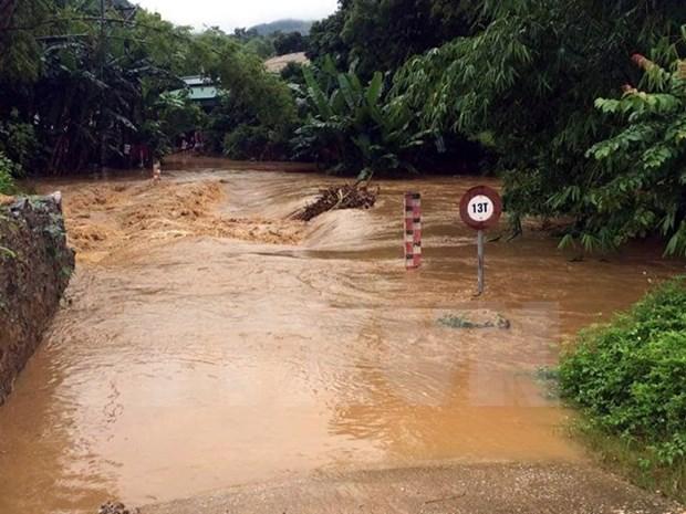 Advierten sobre posibles inundaciones en provincias vietnamitas de Phu Tho y Yen Bai hinh anh 1