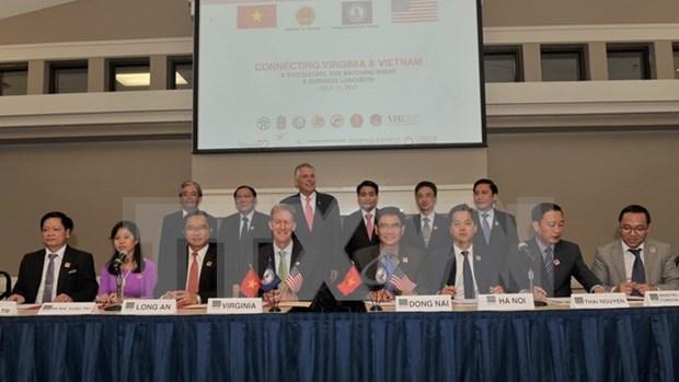 Estado de Virginia (EE.UU) aspira a impulsar nexos multifaceticos con Vietnam hinh anh 1