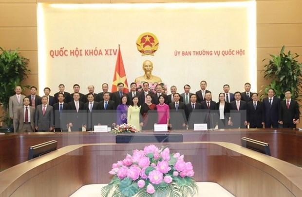 Presidenta del Parlamento vietnamita urge a mayor desempeno de diplomaticos hinh anh 1