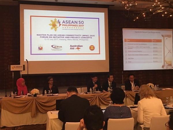 ASEAN impulsa plan de conectividad integral 2025 hinh anh 1