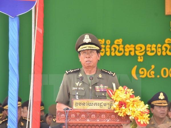 Funcionarios militares de Camboya enfatizan asistencia de Vietnam hinh anh 1