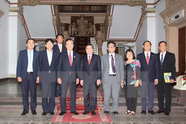 Ciudad Ho Chi Minh refuerza cooperacion con prefectura japonesa hinh anh 1