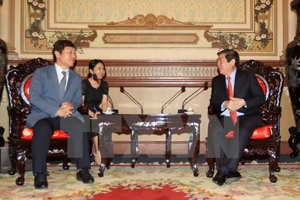 Ciudad Ho Chi Minh desea fomentar vinculos educativos con Sudcorea hinh anh 1