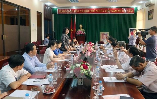 Vicepresidenta de Vietnam visita Con Dao hinh anh 1