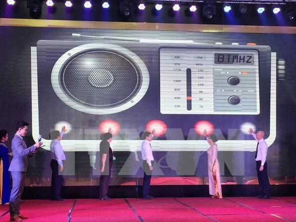 Voz de Vietnam da luz al nuevo canal de trafico Mekong FM90MHz hinh anh 1