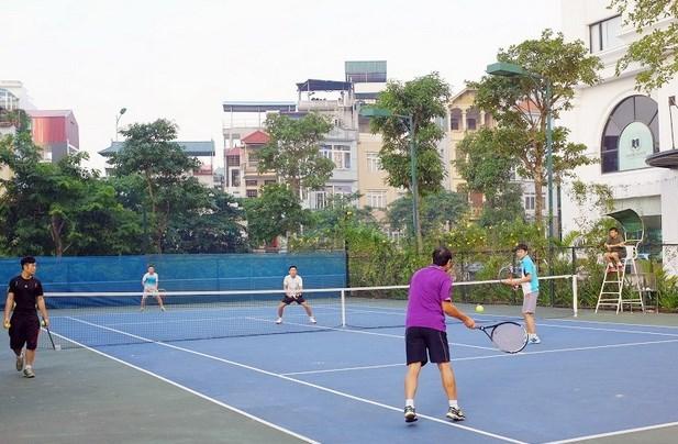 Inauguran en Vietnam torneo internacional juvenil de tenis hinh anh 1
