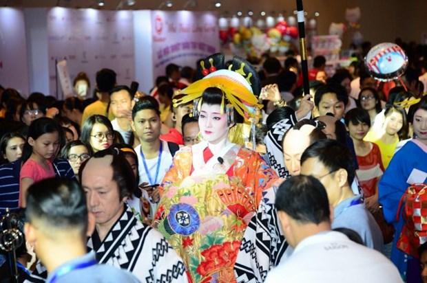 Presentan cultura japonesa en Ciudad Ho Chi Minh hinh anh 1