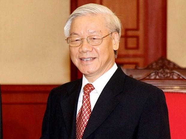 Maximo dirigente partidista de Vietnam visitara Camboya hinh anh 1