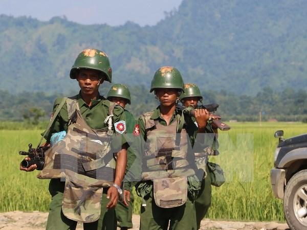 Explosion de minas en Myanmar deja tres muertos hinh anh 1