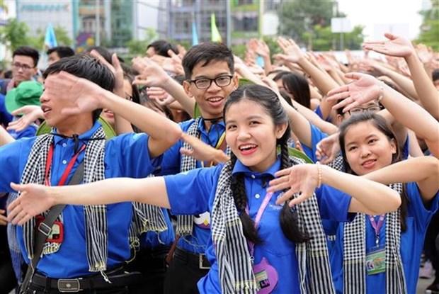 Mas de 60 mil jovenes asisten a la campana de voluntarios de verano hinh anh 1