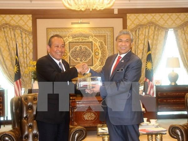 Prensa de Malasia destaca cooperacion con Vietnam hinh anh 1