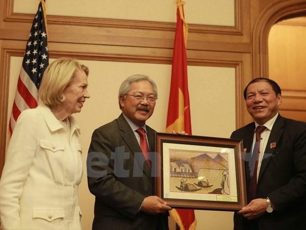 Mas localidades vietnamitas se promocionan en Estados Unidos hinh anh 1