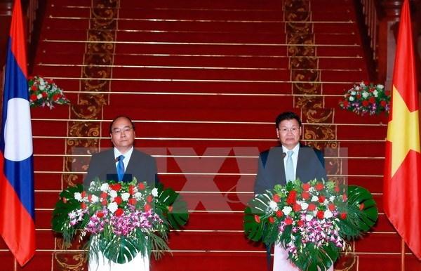 Premier Thongloun Sisoulith: Relacion Laos- Vietnam es tesoro comun de ambos pueblos hinh anh 1