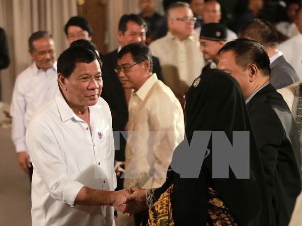 Filipinas: Presidente Rodrigo Duterte recibe alto apoyo de poblacion hinh anh 1