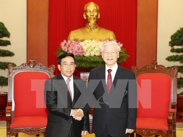 Reitera Laos disposicion de acompanar a Vietnam en el robustecimiento de lazos bilaterales hinh anh 1
