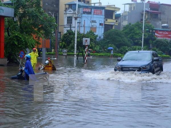 Inundaciones provocan perdidas en provincias nortenas y centrales de Vietnam hinh anh 1