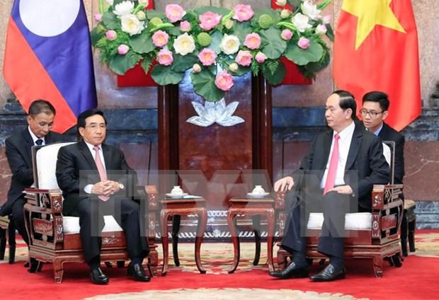 Vietnam y Laos se empenan en enriquecer los lazos especiales hinh anh 1