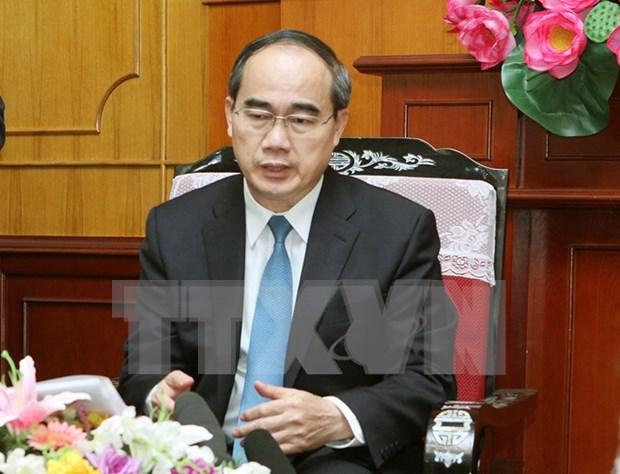 Celebran en Ciudad Ho Chi Minh aniversario de nexos Vietnam- Laos hinh anh 1