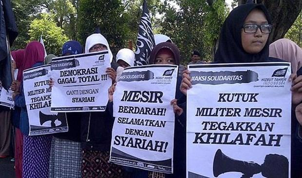 Indonesia prohibe actividades de organizacion Hizbut Tahrir hinh anh 1