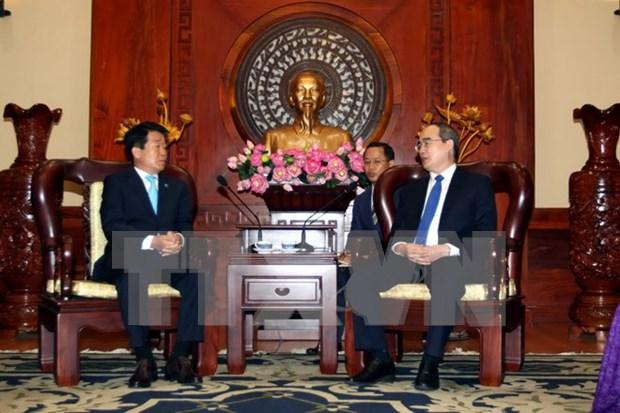 Ciudad Ho Chi Minh fomenta cooperacion con ciudad sudcoreana de Incheon hinh anh 1