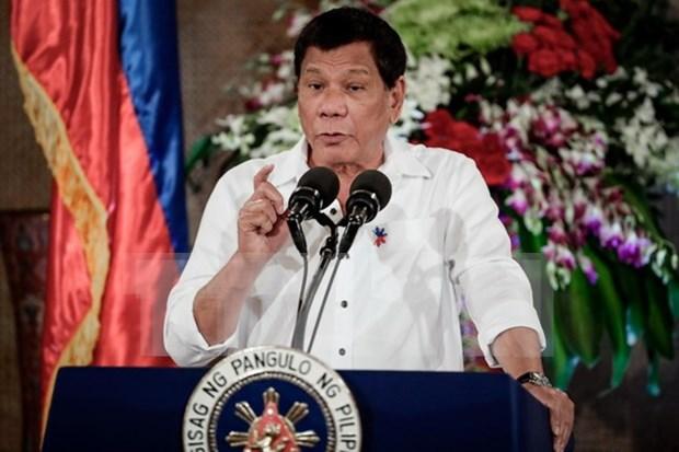 Presidente de Filipinas suspende negociaciones con grupo armado hinh anh 1