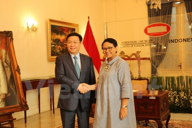 Vicepremier vietnamita reitera respaldo a asociacion estrategica con Indonesia hinh anh 1