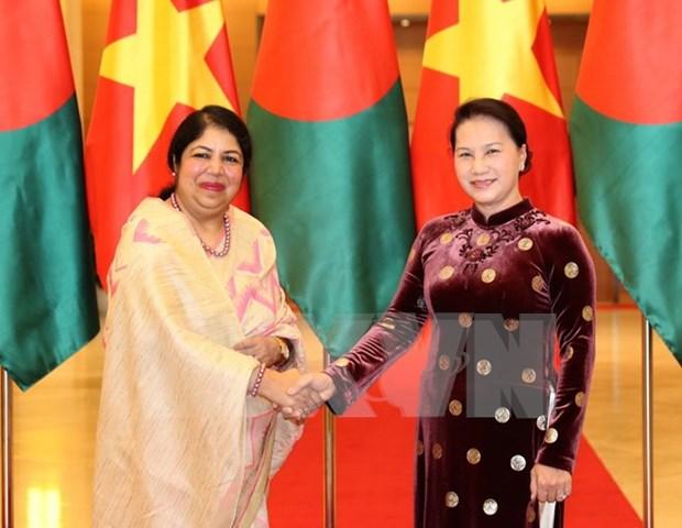 Asamblea Nacional de Vietnam aboga por reforzar cooperacion con Bangladesh hinh anh 1