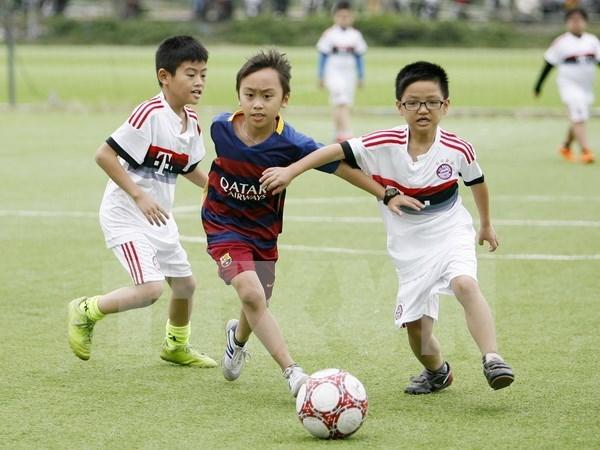 Proyecto de futbol comunitario en Vietnam recibe premio continental hinh anh 1