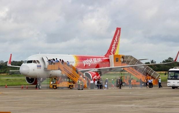 Jetstar Pacific pondra en servicio ruta aerea Quang Binh – Chiangmai hinh anh 1
