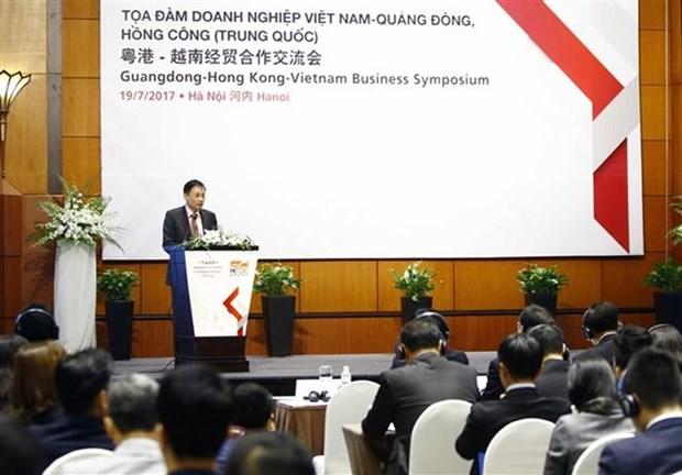 Empresas vietnamitas y chinas buscan oportunidades de negocios hinh anh 1