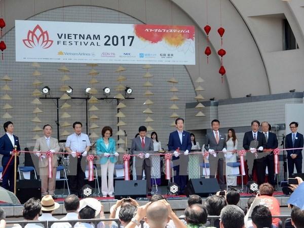 Celebraran Festival de Vietnam en Japon hinh anh 1