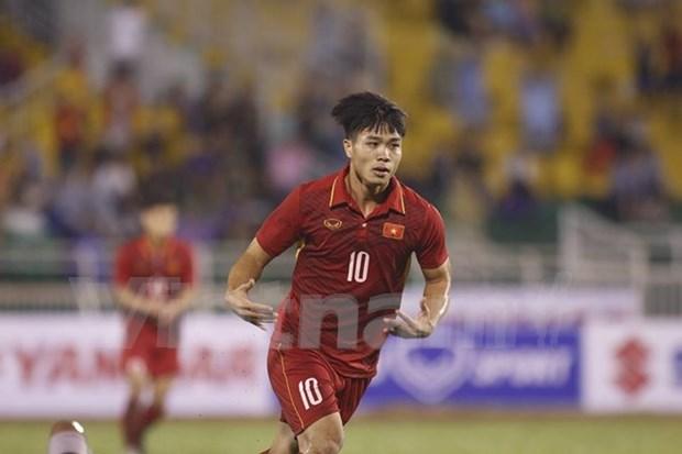 Futbol: Sub-22 de Vietnam vence a Timor Leste en eliminatoria de Copa Asiatica hinh anh 1