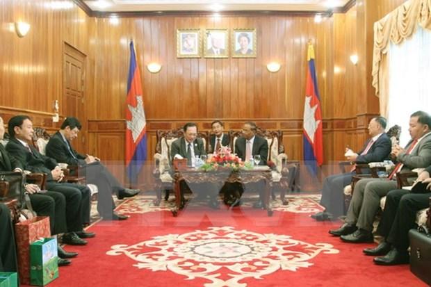 Vietnam y Camboya abogan por garantizar seguridad en frontera comun hinh anh 1