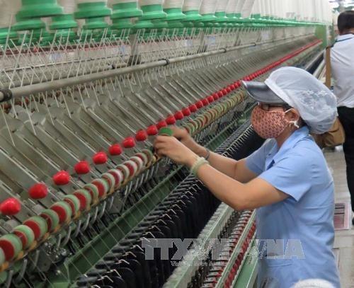 Empresas de India buscan impulsar exportaciones de maquinaria textil a Vietnam hinh anh 1